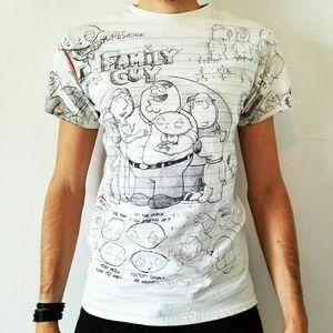Family Guy Sketch Shirt